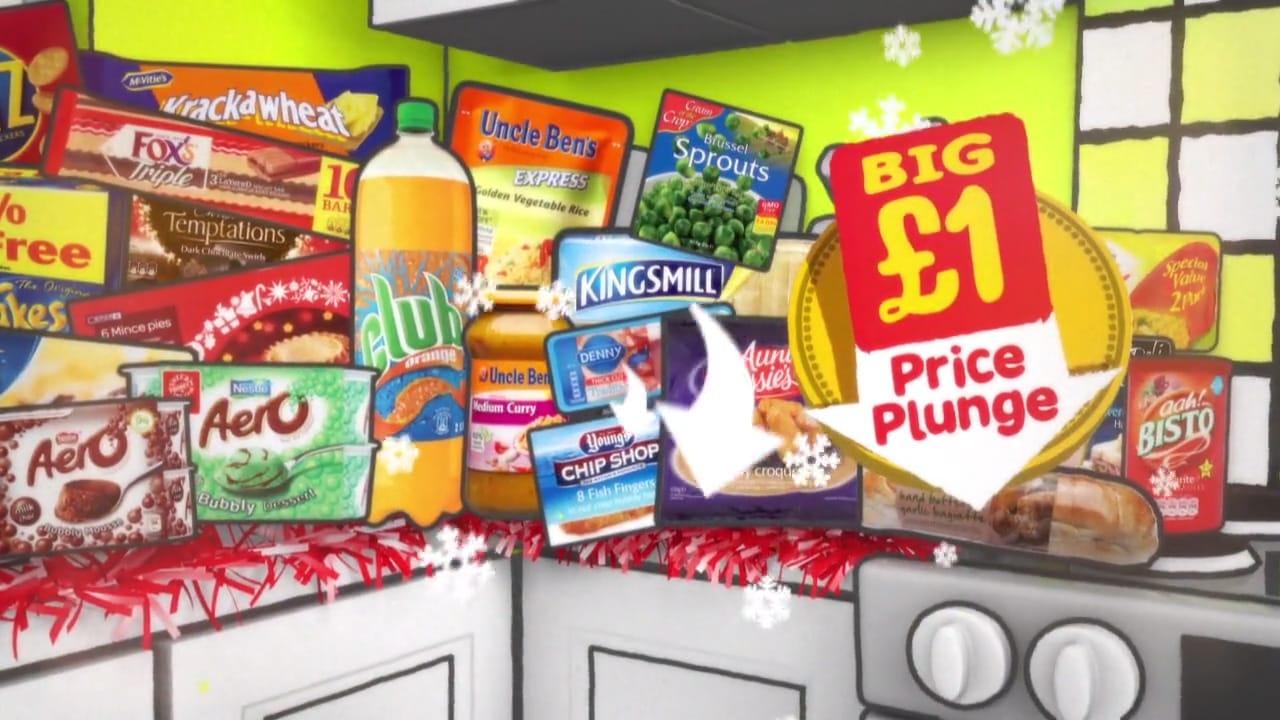 Spar Festive Price Plunge